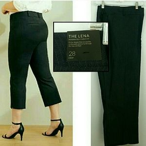 NWT Lane Bryant Lena Crop Pant Moderately Curvy